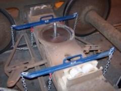 Brake Beam Support Fixture