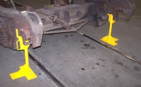 """28"""" Truck Side Frame Support Fixtures (Set Of Two)"""