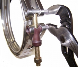 G. E. Exhaust Manifold Clamp Pliers