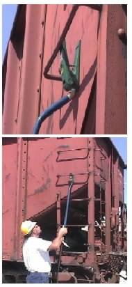 3' Long Hydraulic Hand Hold Straightener
