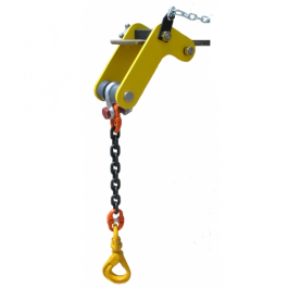 "Forklift Lifting Fixture 18"" Chain Extension Without Hook"