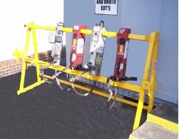 8 Unit Free Standing EOTD Rack