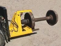 Hydraulic Side Access Wheel Fixture