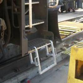 Aluminum Locomotive Step