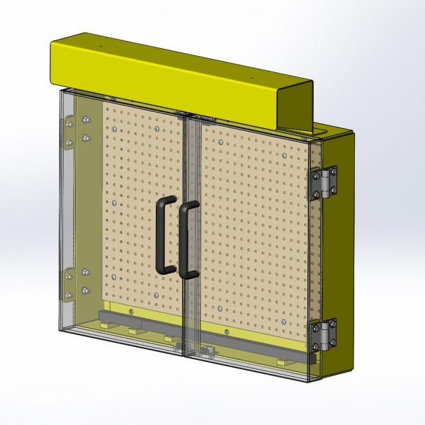 Small NRE Tool Box With Acrylic Doors  sc 1 st  Wulfs Custom Welding & Small NRE Tool Box With Acrylic Doors u2013 Wulfs Custom Welding