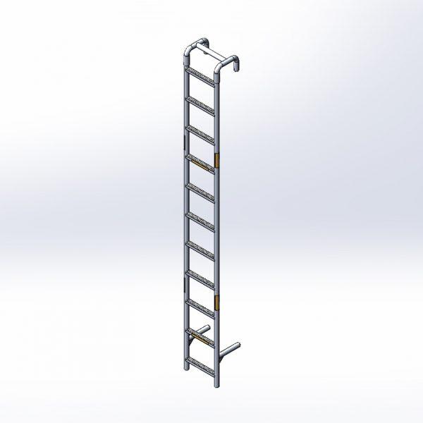 True Eleven Foot Ladder